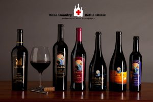 Professional wine bottle photography by Jason Tinacci and www.winecountrybottleclinic.com