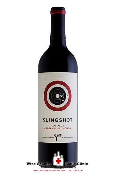 Slingshot Napa Valley wine bottle photo by Jason Tinacci