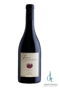 Professional wine bottle photography by Jason Tinacci and www.winecountrybottleclinic.com