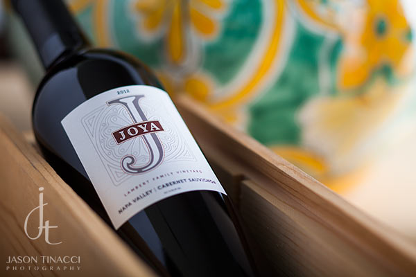 Styled wine bottle shots in Sonoma, CA by Jason Tinacci